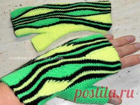Головные уборы,шарфы и митенки в технике свинг (swing-knitting) - Klubok - Modnoe Vyazanie.ru.com