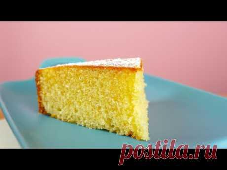 Сливочный пирог из простых ингредиентов