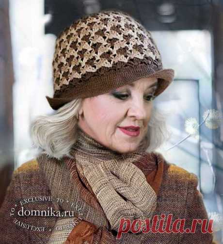 10 вязаных шляпок и шапок для женщин - схемы узоров, описания и фото