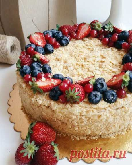Торт «Наполеон» | HomeBaked