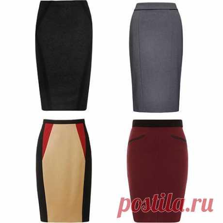 Юбка-карандаш Элегантная юбка в тандеме с блузкой и туфлями на высоких каблуках творит чудеса: фигура визуально вытягивается и становится изящнее.