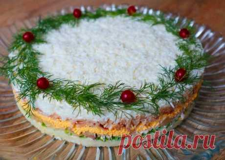 Вкуснейший салат на новогодний стол Автор рецепта Катерина - Cookpad