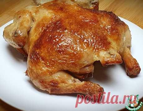 Курица запеченная с румяной корочкой – кулинарный рецепт