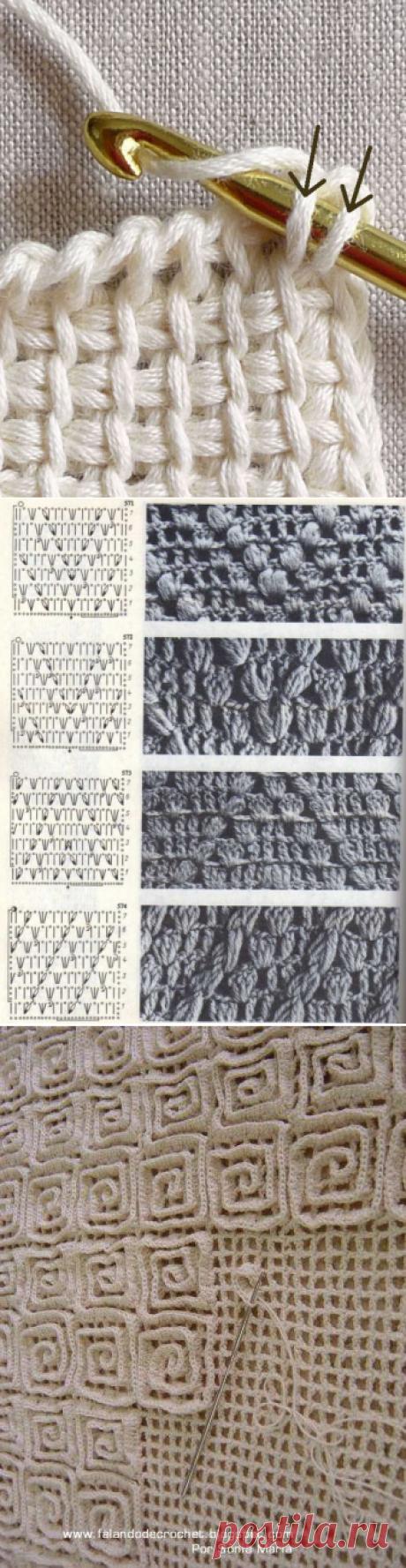 Схемы плотных рисунков