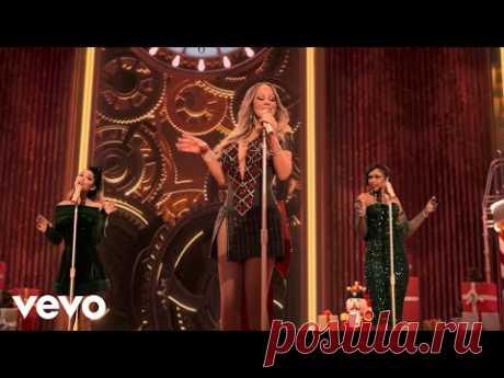 Скачать клип Mariah Carey ft. Ariana Grande, Jennifer Hudson - Oh Santa бесплатно