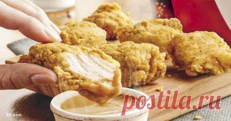 Теперь каждый может приготовить курицу из KFC по секретному рецепту 1940 года .