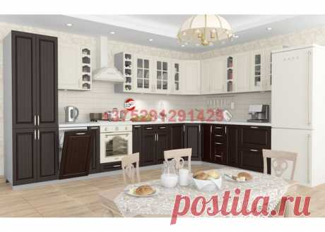 Кухня модульная Лондон (дуб крем/дуб венге): купить в Минске недорого, низкие цены, скидки, рассрочка