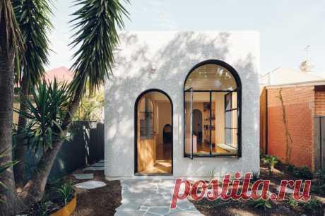 Houzz Австралия: Кухня, которую пристроили маленькому дому Когда живешь в  историческом доме — капитально ничего не изменить, а места не хватает.