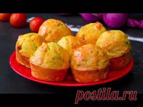 1 кабачок, 2 помидора и 3 яйца. Даже дети могут приготовить!| Appetitno.TV