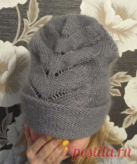 Великолепная шапка из премиального мериноса + мохер  Источник: https://vk.com/id453772024  По МК великолепной мастерицы Анастасии Оригинальная  норка, но решила связать из мериноса. Итог оч понравился Как Вам?