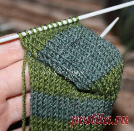 Мастер-класс вязания носков на четырех спицах - Modnoe Vyazanie ru.com