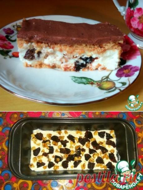 Творожный десерт с черносливом – кулинарный рецепт