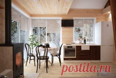 Загородный домик - Дизайн интерьеров | Идеи вашего дома | Lodgers