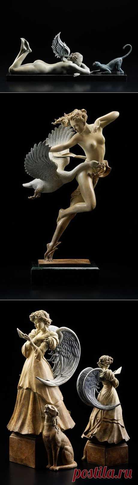 (+1) тема - Michael Parkes | Искусство