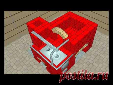 Современная русская печь-технология строительства