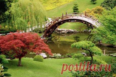 Японский сад в Сан Марино, Штат Калифорния, США