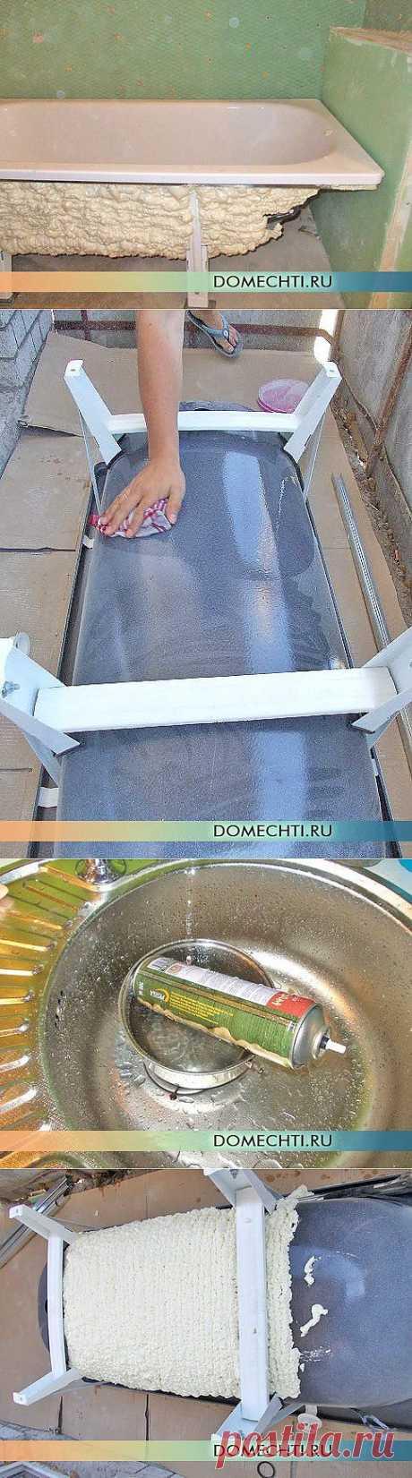 Утепление и звукоизоляция стальной ванны своими руками (фото)   Дом Мечты