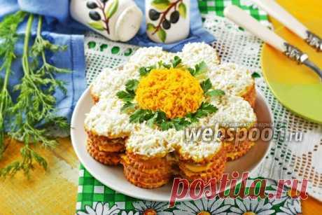 Торт-салат из крекеров с консервой рецепт с фото, как приготовить на Webspoon.ru