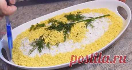 """Как приготовить салат """"Мимоза"""" - Лучший сайт кулинарии"""