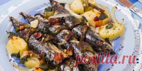 Скумбрия запечённая : Рыбные блюда : Кулинария : Subscribe.Ru