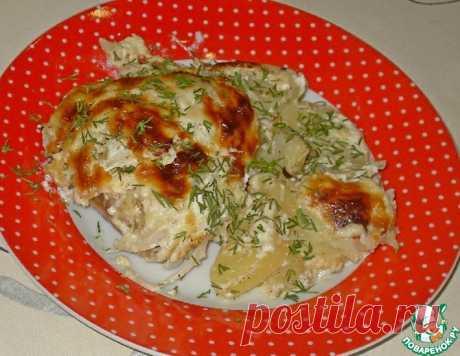 Курица в духовке – кулинарный рецепт