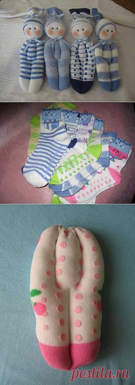 (+1) - Как сделать пупса из носка | СДЕЛАЙ САМ!
