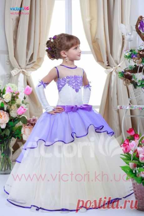 Купить детское платье D708 | интернет магазин Victori.kh.ua