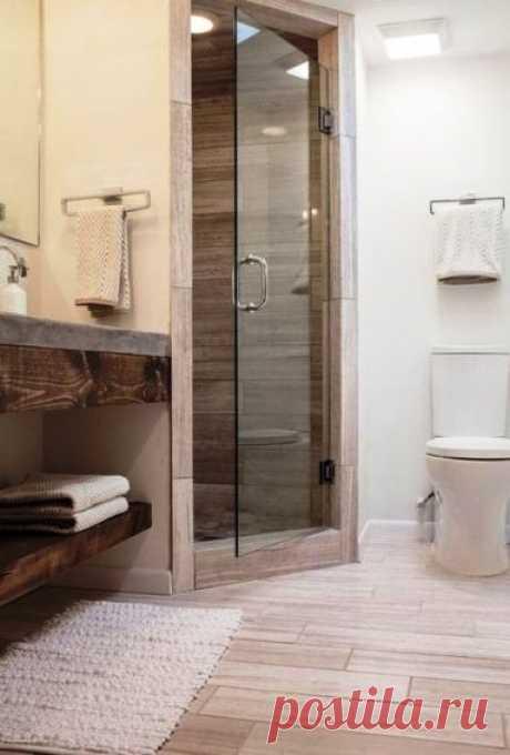 Как сделать из небольшой ванной уютное и приятное место — несколько интересных примеров