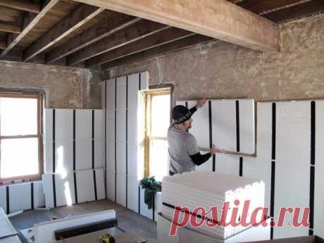 Виды утеплителей для стен дома внутри и снаружи: рулонный, базальтовый, пенопропилен