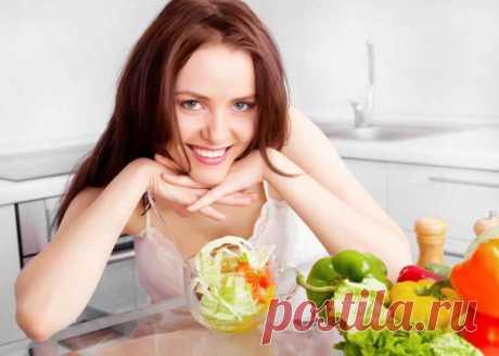 Какими продуктами ужинать женщинам, склонным к полноте