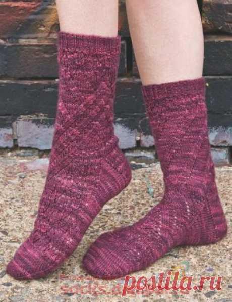 Вязаные носки «Pointelle»