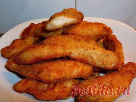 Como asar es sabroso el filete de gallina o las gallináceas naggetsy - YouTube