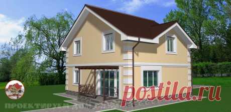 Проект дома на 130 кв.м. из газобетона | Проектируем дом САМИ | Яндекс Дзен