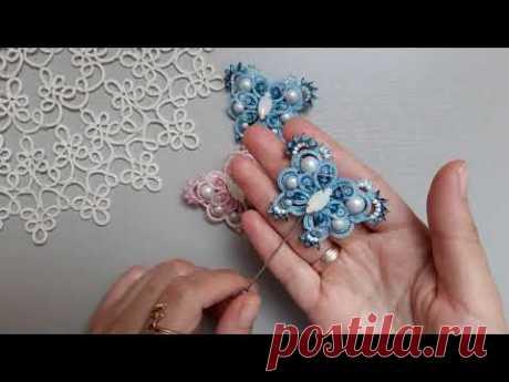 Бесплатный марафон по фриволите Бесплатный мастер класс Tutorial tatting lace jewelry