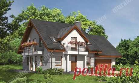 El proyecto de la casa М73 la Escala del sol - proekty-muratordom.com