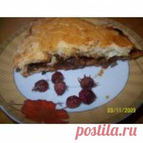 Пирог с калиной и земляникой Кулинарный рецепт