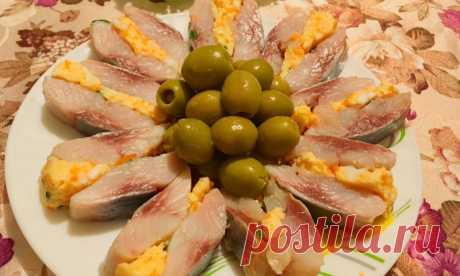 Всем понравилось! ФАРШИРОВАННАЯ СЕЛЬДЬ - классная закуска - Кулинарный сайт yamirecipes.net
