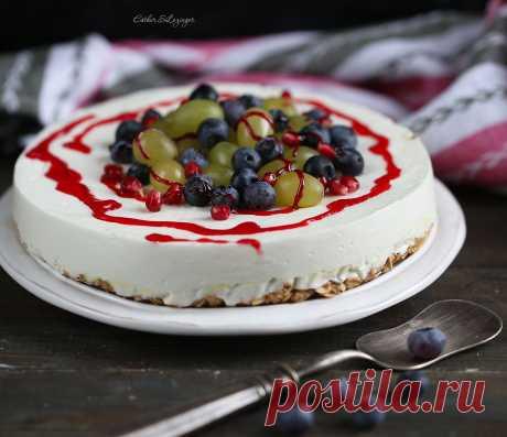 Диетический торт без муки, яиц и сахара - рецепт из рубрики «Рецепты десертов»