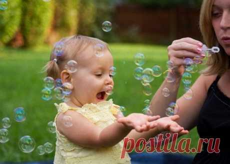 Классные мыльные пузыри