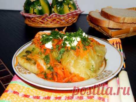 Голубцы с капустой в мультиварке рецепт с фото - 1000.menu