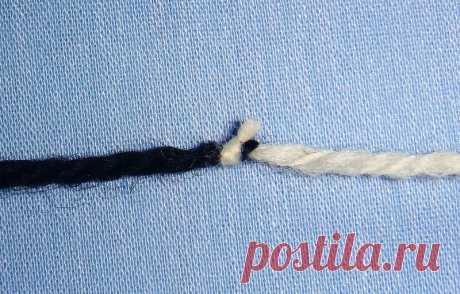 2 способа соединения нитей. 2 МК