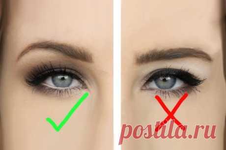 5 правил макияжа для глаз с нависшими веками: широко распахнутый взгляд! » MAKATAKA