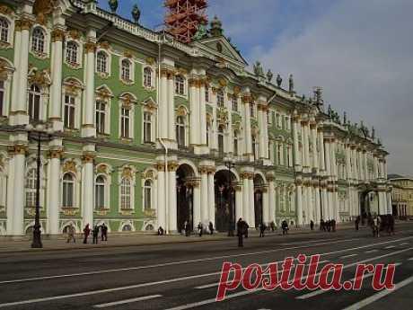 Зимний дворец в Санкт-Петербурге — подробная информация с фото