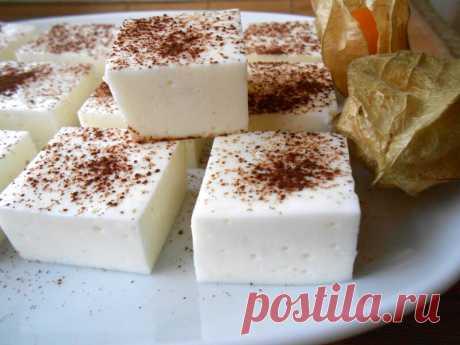Рецепт легкого творожного зефира, который можно есть даже на диете - topovoye.ru