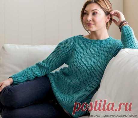 "Пуловер ""STARBOARD SWEATER"" от ERIKA KNIGHT."