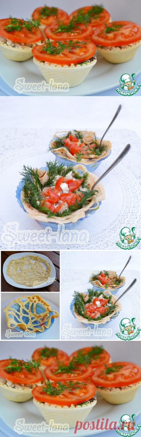 """Вкусный салат с курицей и грибами, праздничное оформление. Салат """"Хороший день"""" - кулинарный рецепт - Антрекот - большая кулинарная книга"""
