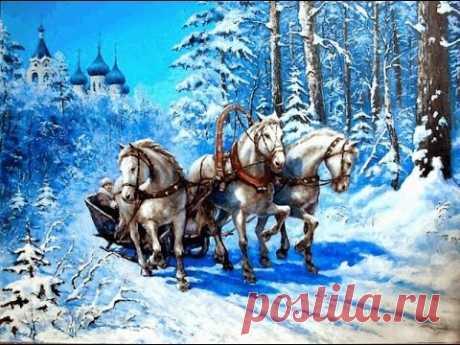 Русская зима глазами русских художников