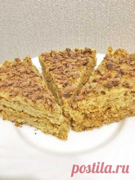 Проверяю рецепт торта Пломбир «без духовки и печенья». | Тошка Поварёшка | Яндекс Дзен