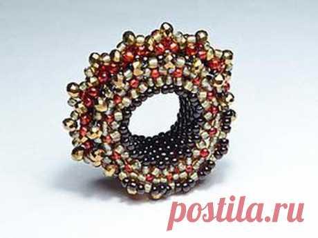 Создаем ажурное кольцо для шарфа | Журнал Ярмарки Мастеров