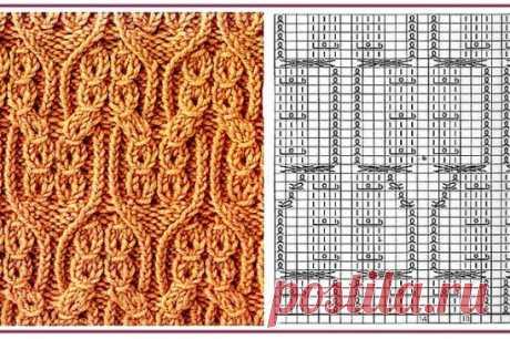Любите ли вы вязать сложные орнаменты?